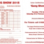 Gang Show Booking Form 2015
